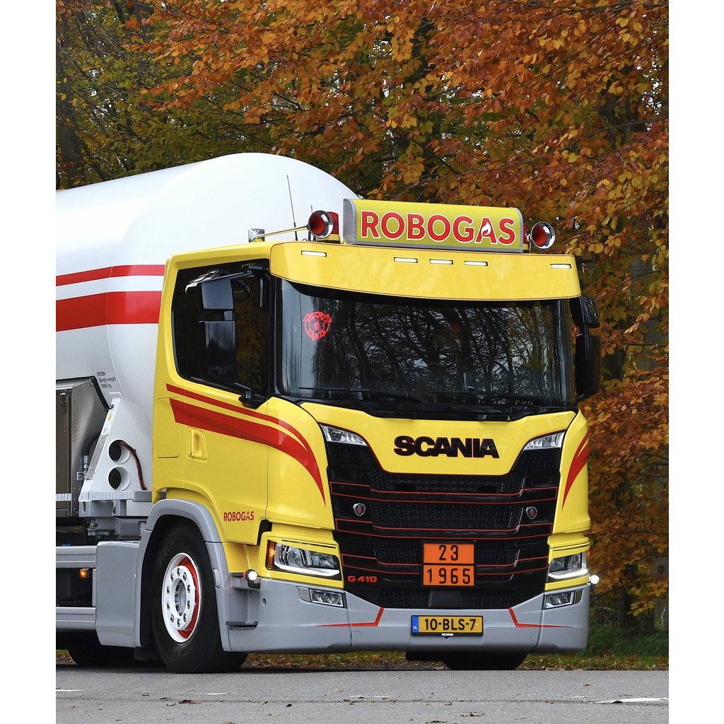 Fox Parts Sunvisor Scania NextGen Rond 35cm