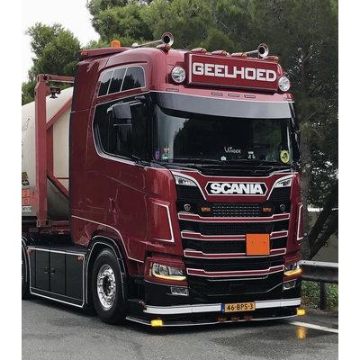 Fox Parts Zonneklep Scania NG Rond 40cm