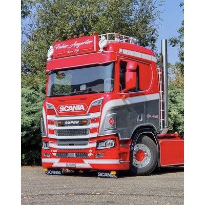Fox Parts Zonneklep Scania NG Recht 30cm