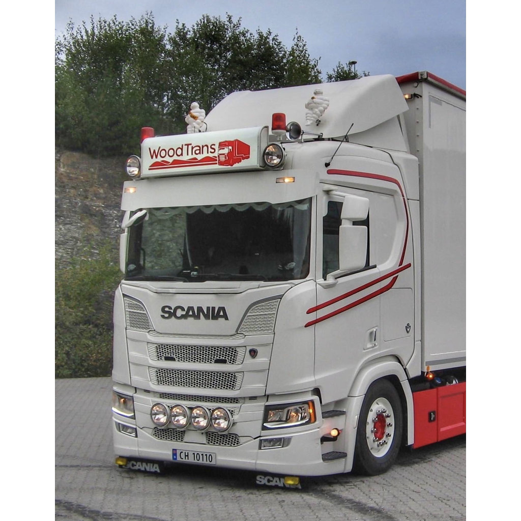Fox Parts Sunvisor Scania NextGen Straight 30cm
