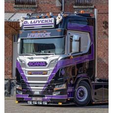 Fox Parts Sunvisor Scania NextGen Straight 34cm