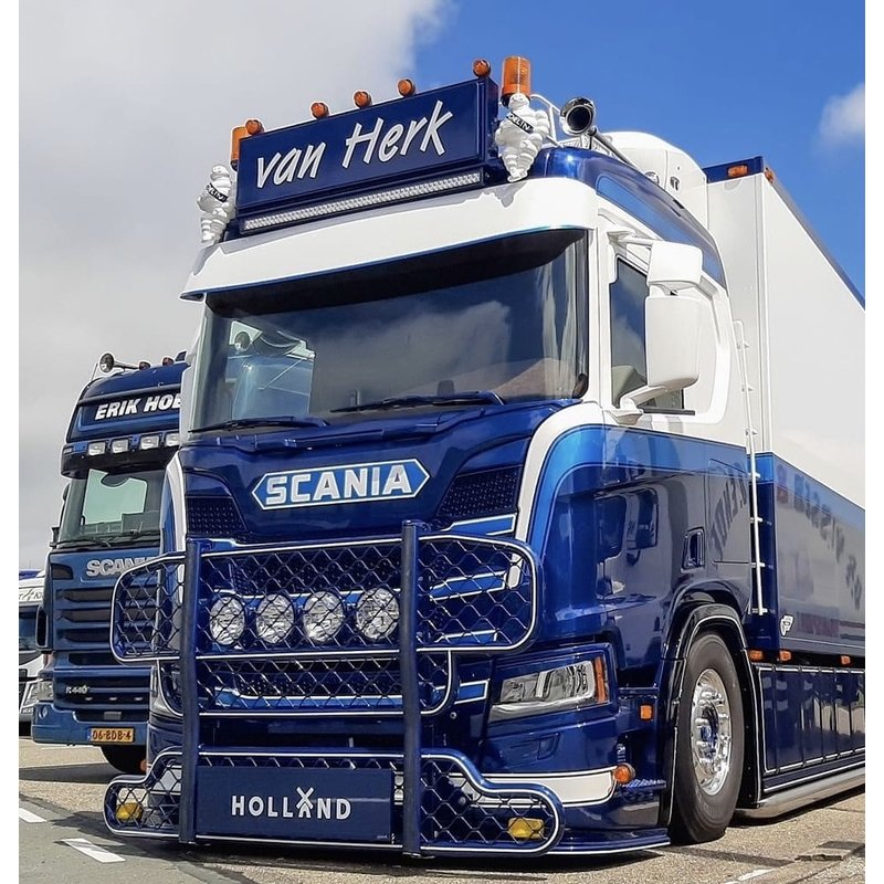 Fox Parts Zonneklep Scania NG Rond 35cm