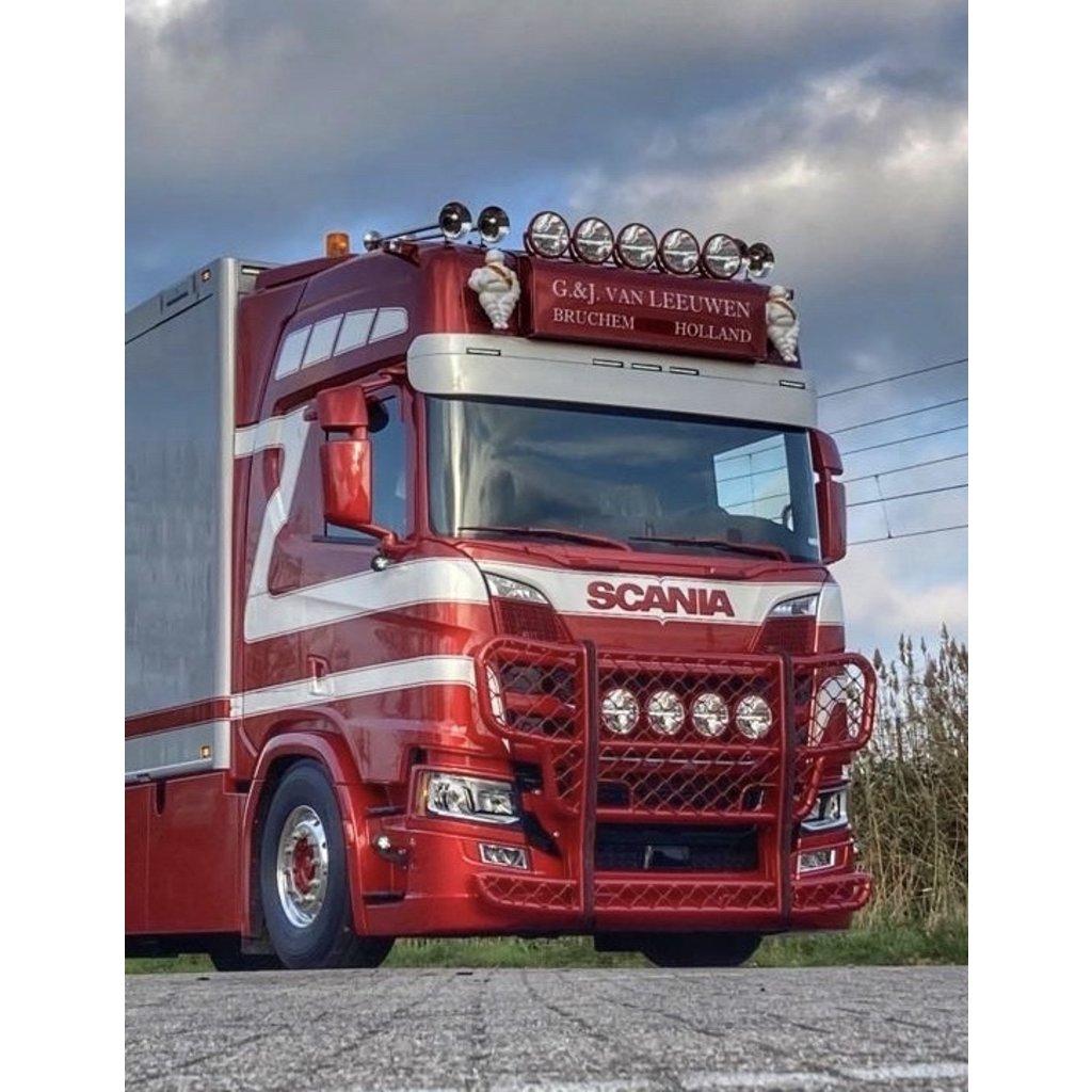 Lichtbaksteunen (set) Scania NextGen of DAF Spacecab