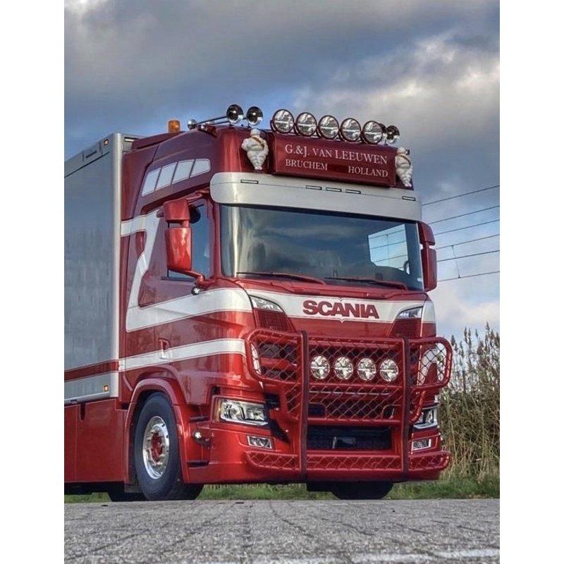 Lichtbaksteunen (set) Scania NG of DAF SC
