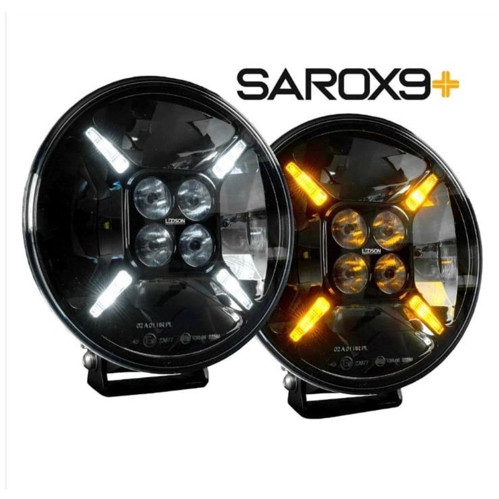 Ledson Sarox 9+ verstraler met oranje en wit stadslicht!