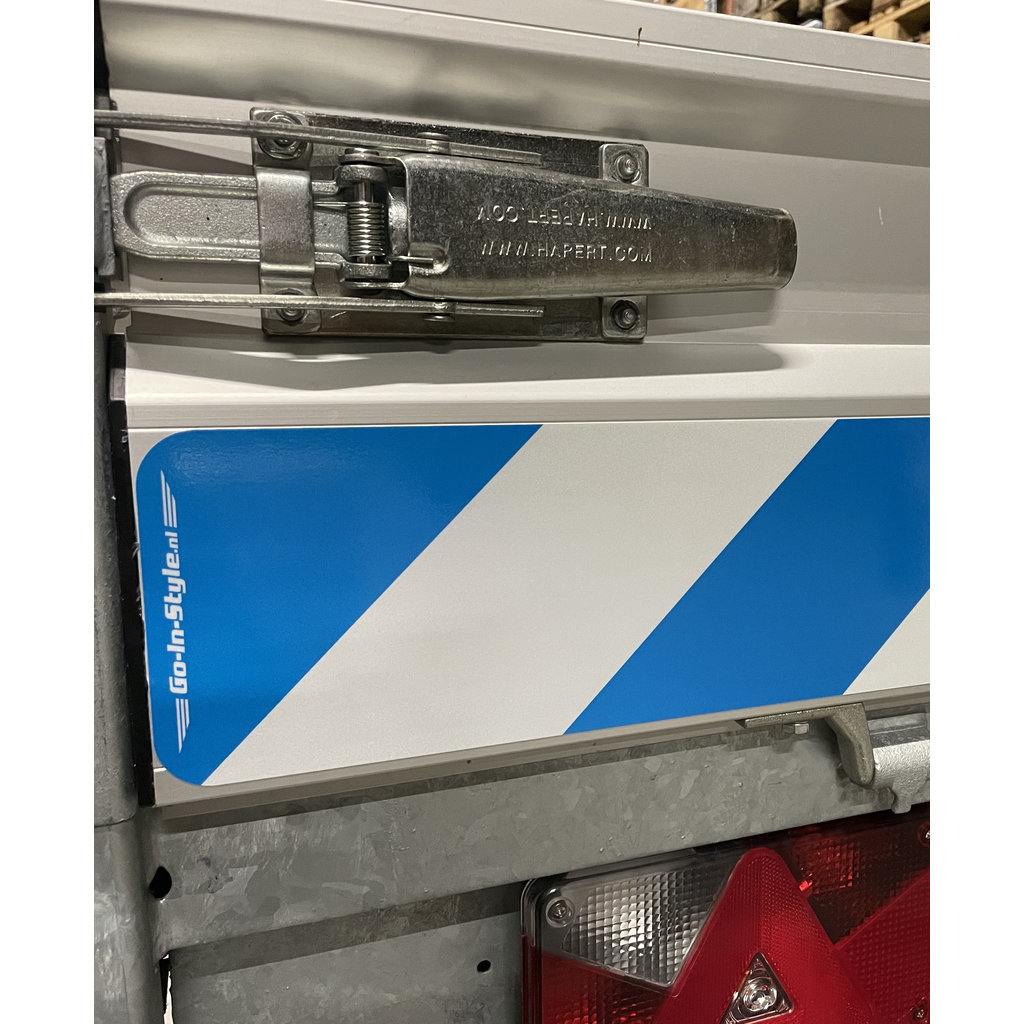 Reflective GIS length sign sticker (set) to match the color of your truck!