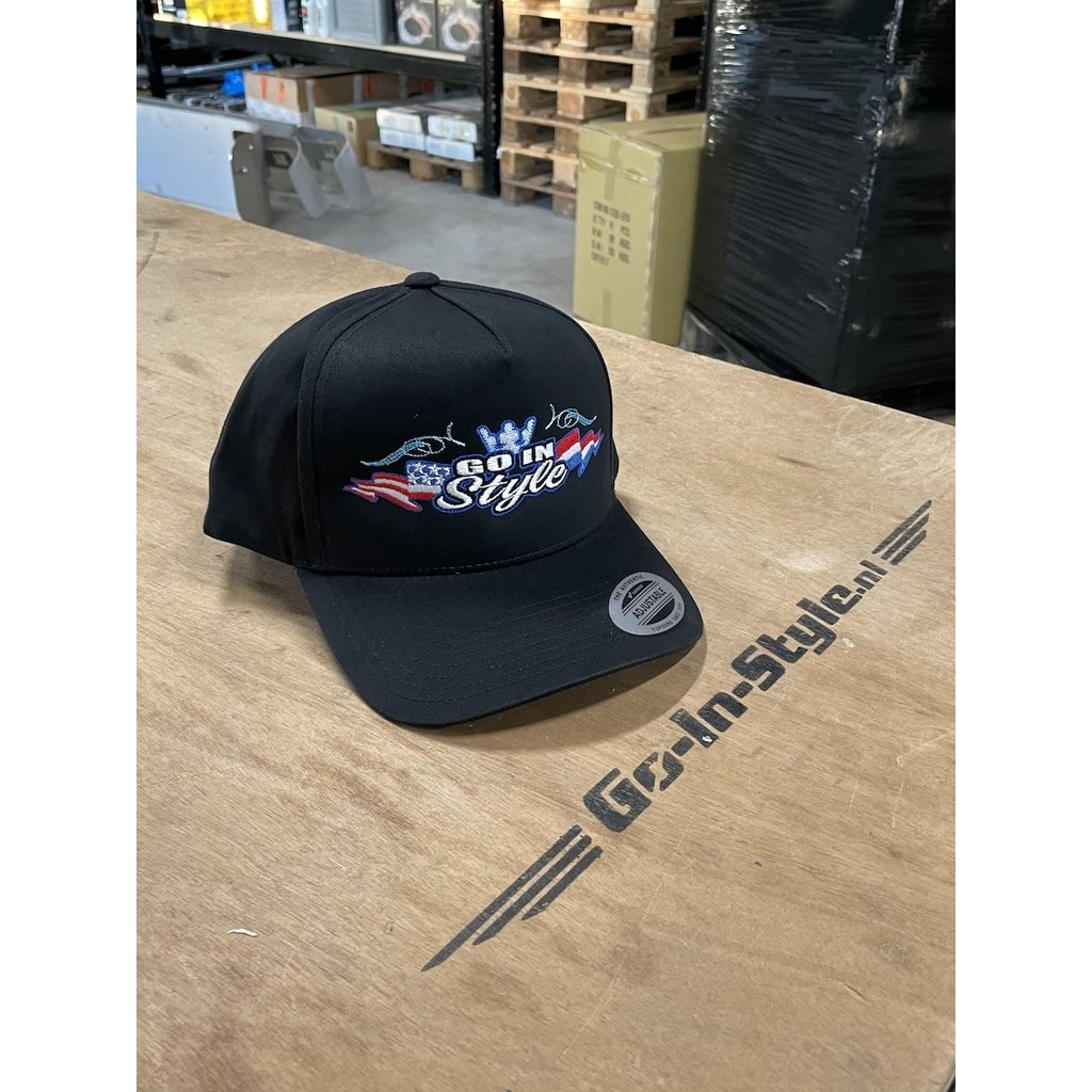 GIS Snapback Cap met een ronde klep