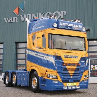 Veap halve onderspoiler Scania NG lage bumper