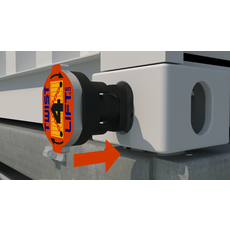 Twist4Lift® Safety Container Lifting Hooks