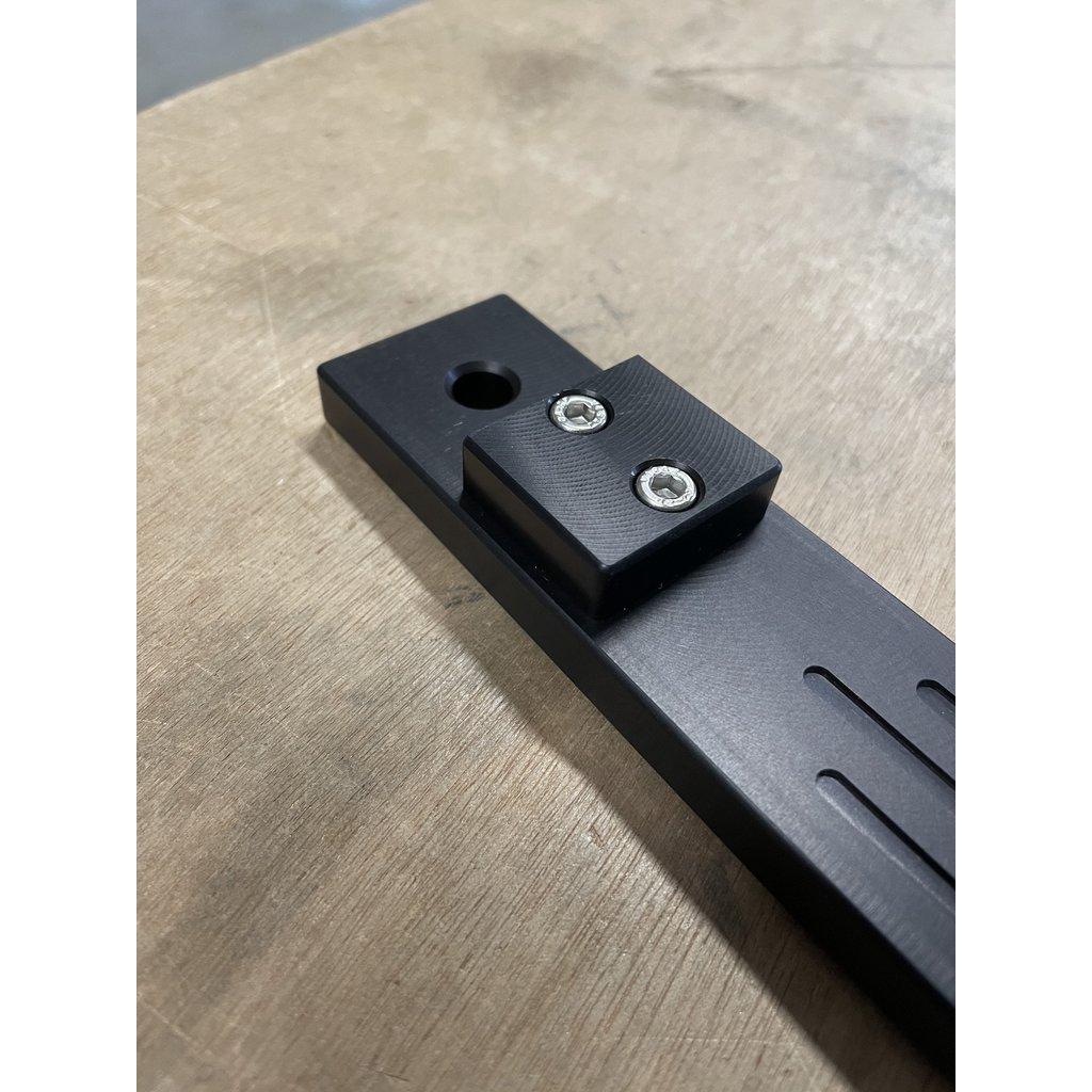 GIS Custom billet aluminium machined fifth wheel lever