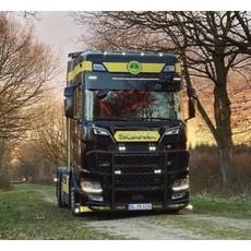 "Fox Parts Sunvisor Scania NextGen Straight 34cm with Siberia 42"""
