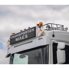 """Fox Parts Zonneklep Scania NextGen Recht 34cm met Siberia 42"""""""