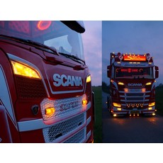 LED Position light + Strobe for Scania Grille driving light Scania R/S NG