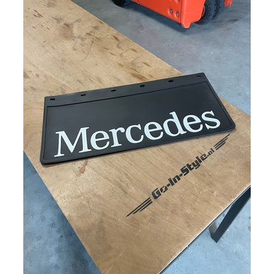Mudflap Mercedes 60x30cm
