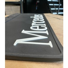 Nice Mudflap with thick Mercedes letters 60x30cm