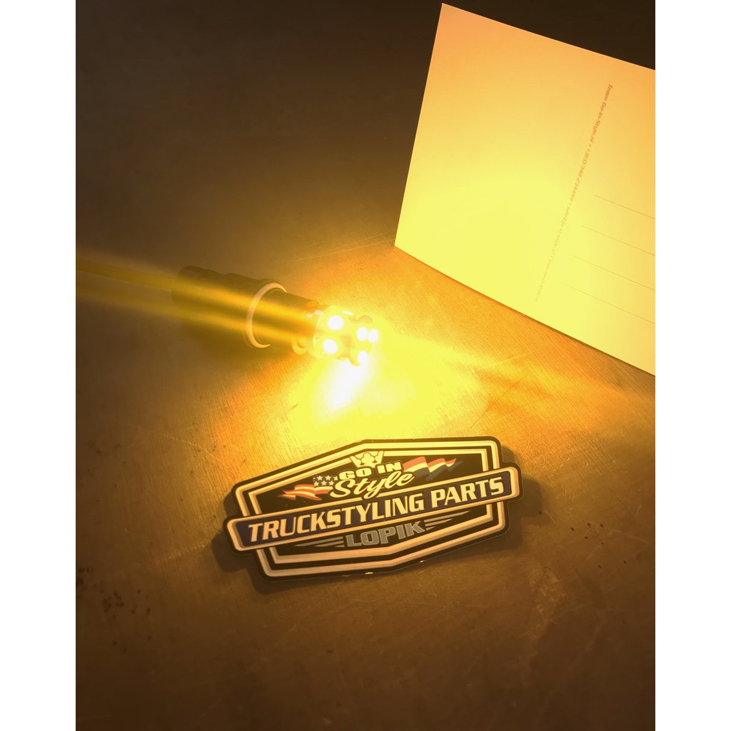 BA15s LED lighting (per set)