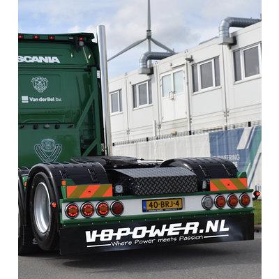 Mudflap V8power.nl