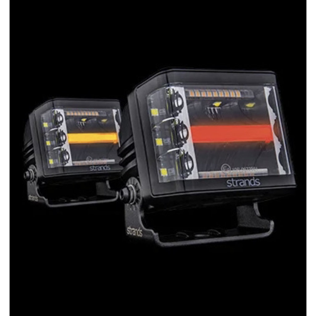 Siberia Red Fox Work light with strobes