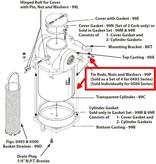 Perko Filtro d'acqua di aspirazione - Cunei, dadi e rondelle di ricambio