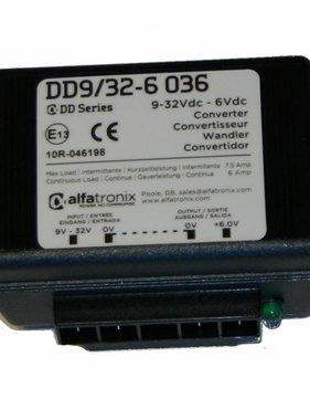 Alfatronix 9-32 VDC Convertidor con amplia gama Entrada (no aislada)