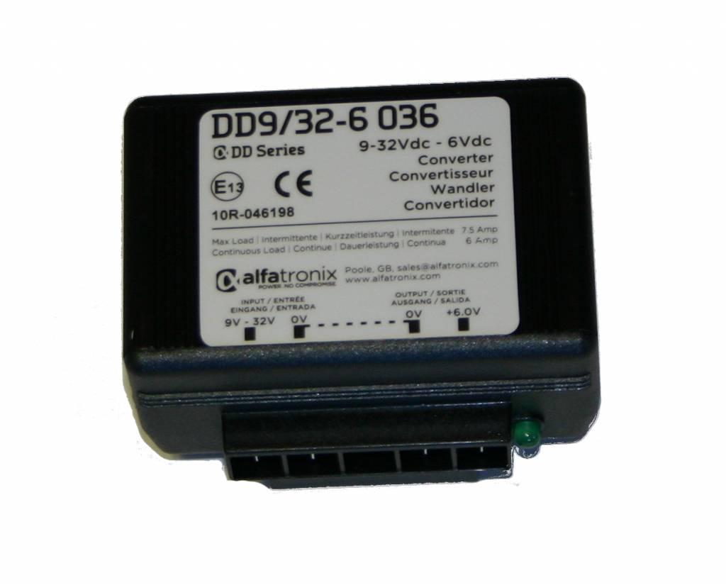 Alfatronix 9-32 VDC-Wandler mit Weitbereichs-Eingang (nicht isoliert)