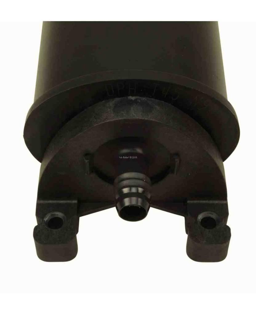 Perko Delphi Carbon Canister (dimensioni da 0,5 litri a 4 litri, con o senza scudo termico)