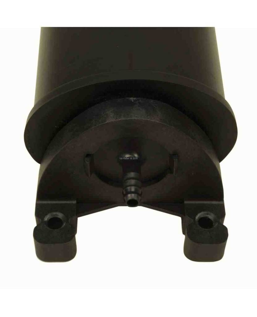 Perko Delphi Carbon Canister (tamaño de 0,5 litros a 4 litros, con o sin escudo térmico)
