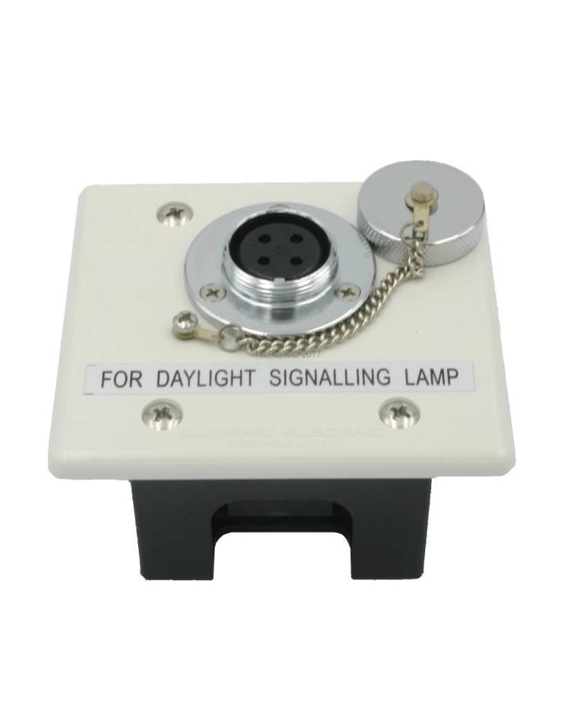 Sanshin Unterputzsteckdose für ALDIS-Lampe (nicht wasserdicht, IP20)