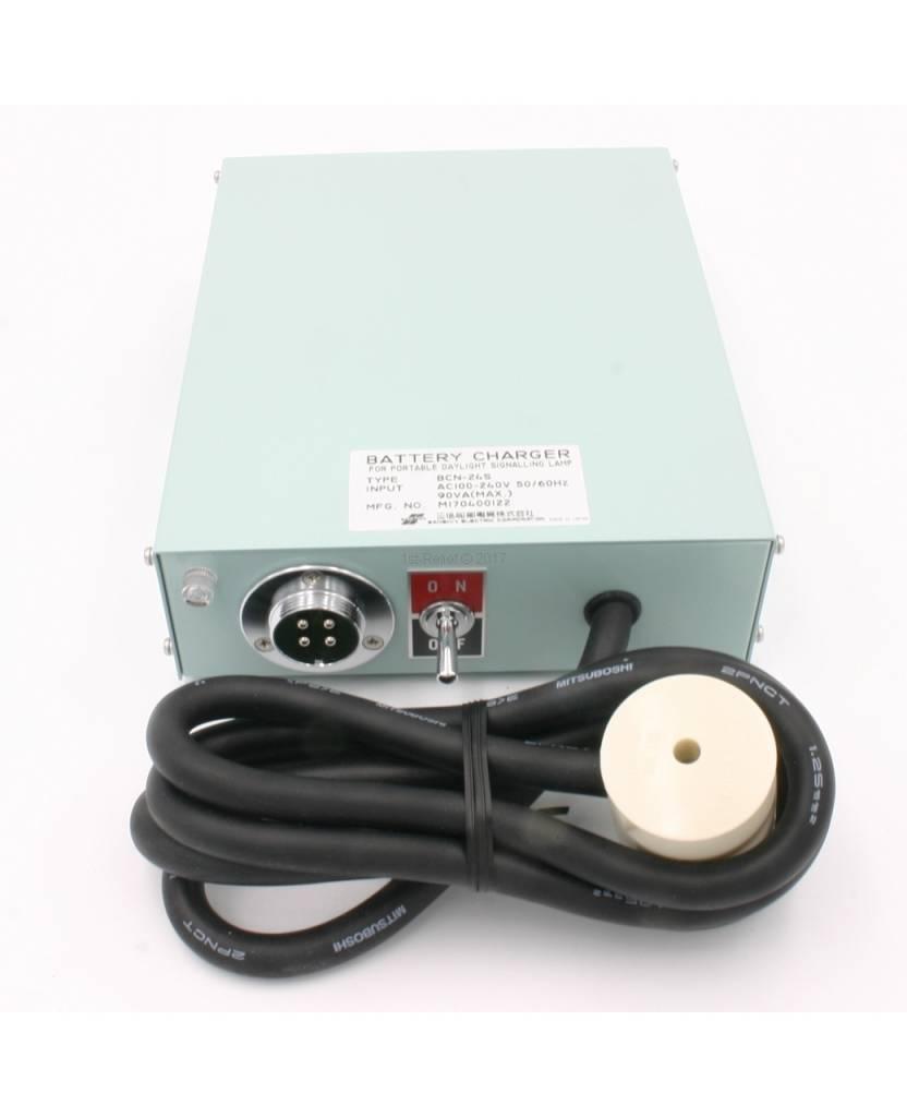 Sanshin Ladegerät BCN-24S für ALDIS Tragbare Tageslicht-Signalleuchte SPS-10A