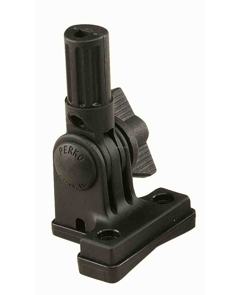 Perko Replacement base - horizontal mounting that fits for all fold-down poles from Perko