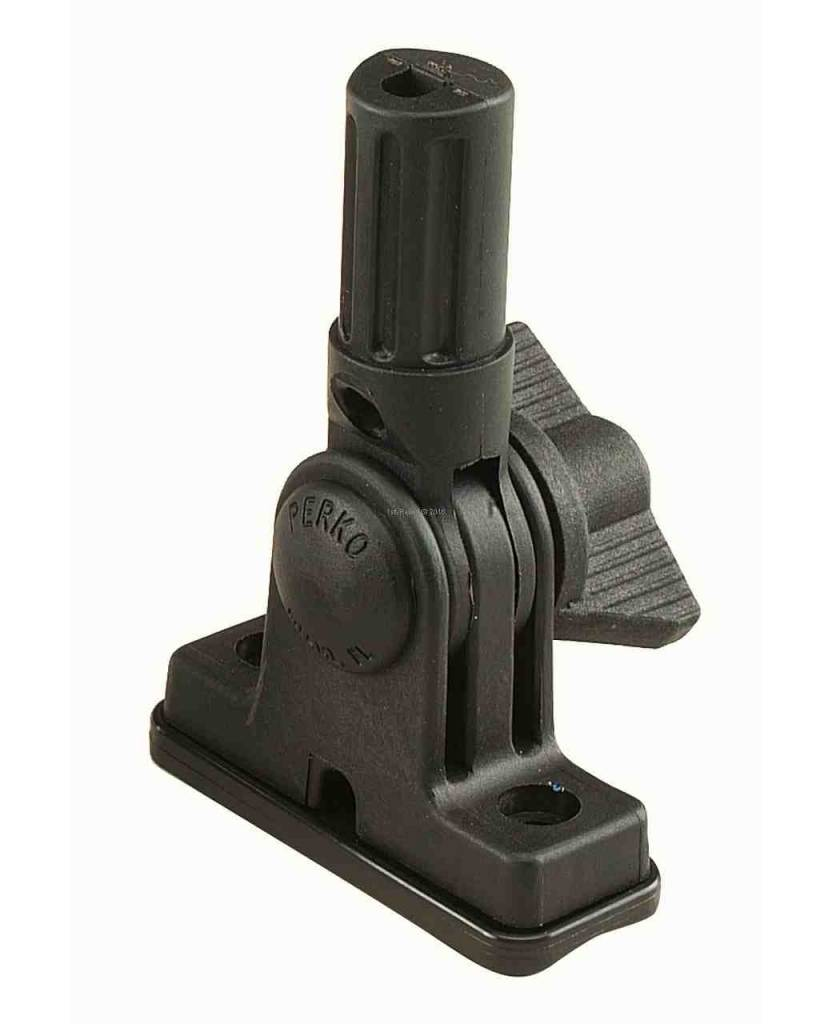 Perko Replacement base - vertical mounting that fits for all fold-down poles from Perko