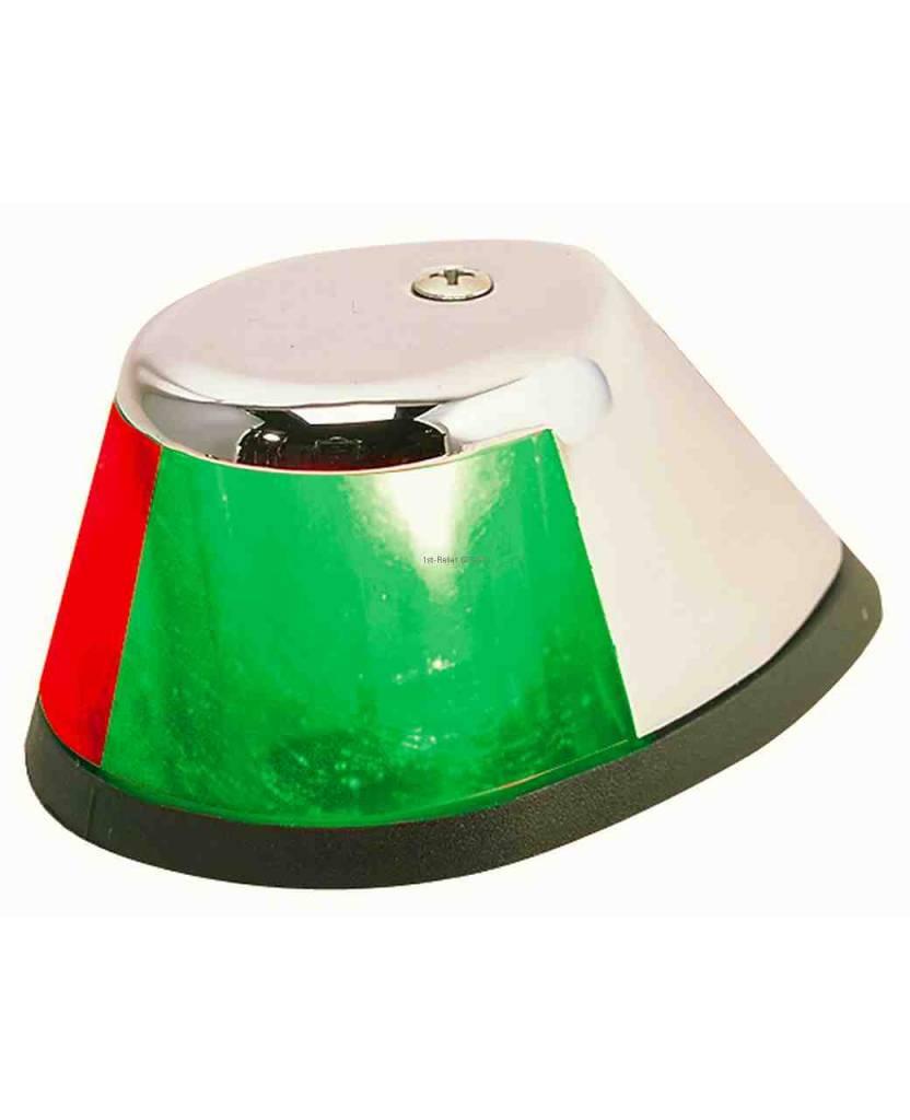 Perko 12 VDC LED bicolor Luz - montaje horizontal