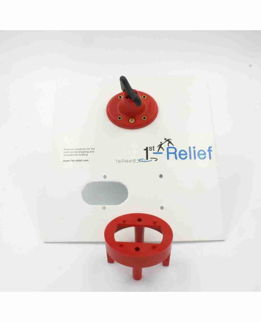 Perko Enkelvoudige batterijschakelaar zorgt ervoor dat de batterij uit het elektrische systeem wordt uitgeschakeld