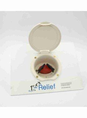 Perko Interruttore a due selettori per batterie - Supporto per tazza