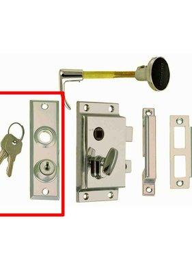Perko Cabindoor - Plaque d'écusson de rechange avec clés