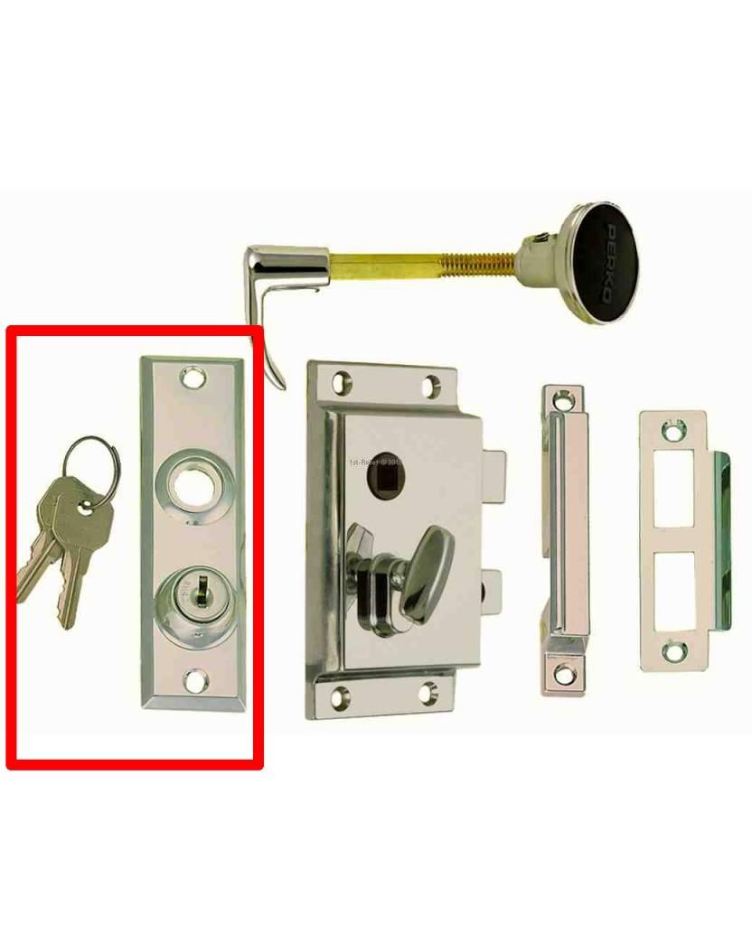 Perko Cabindoor - Reservewielplaat met sleutels