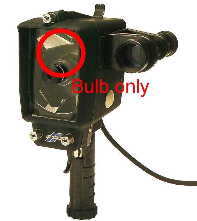 Sanshin Ersatzlampe für ALDIS Tragbarer Signalscheinwerfer