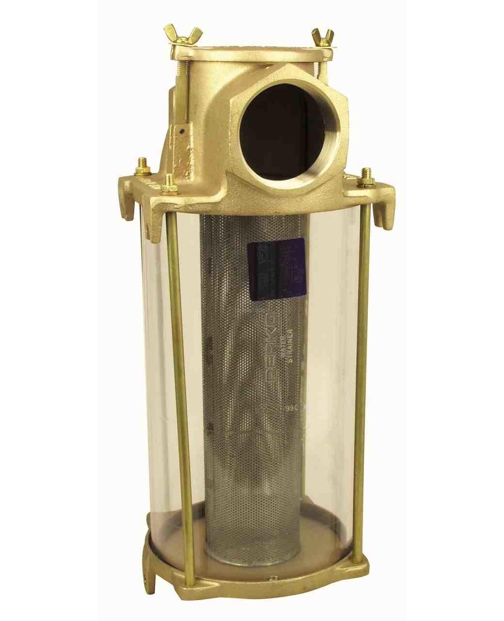 Perko Filtro acqua di aspirazione di grandi dimensioni - Tiranti, dadi e rondelle di ricambio sono costituiti da (1 ciascuno per serie 0500)