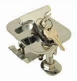Perko Rechthoekige flens Flush Hatch Dog met of zonder slot