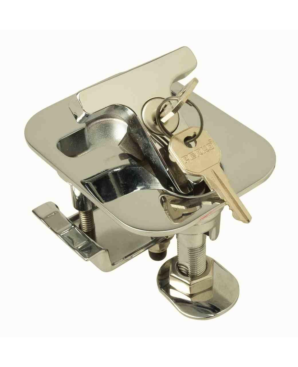 Perko Hatch Dog con flangia rettangolare con o senza serratura