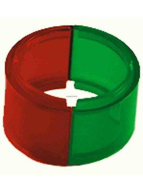 Perko Lente de repuesto de 112-1 / 2 ° para luces bicolores