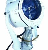 "Perko 15"" or 19"" Xenon Zoeklicht with Lever/Gear or Distant Electric Control (500, 1000 + 1600 W)"