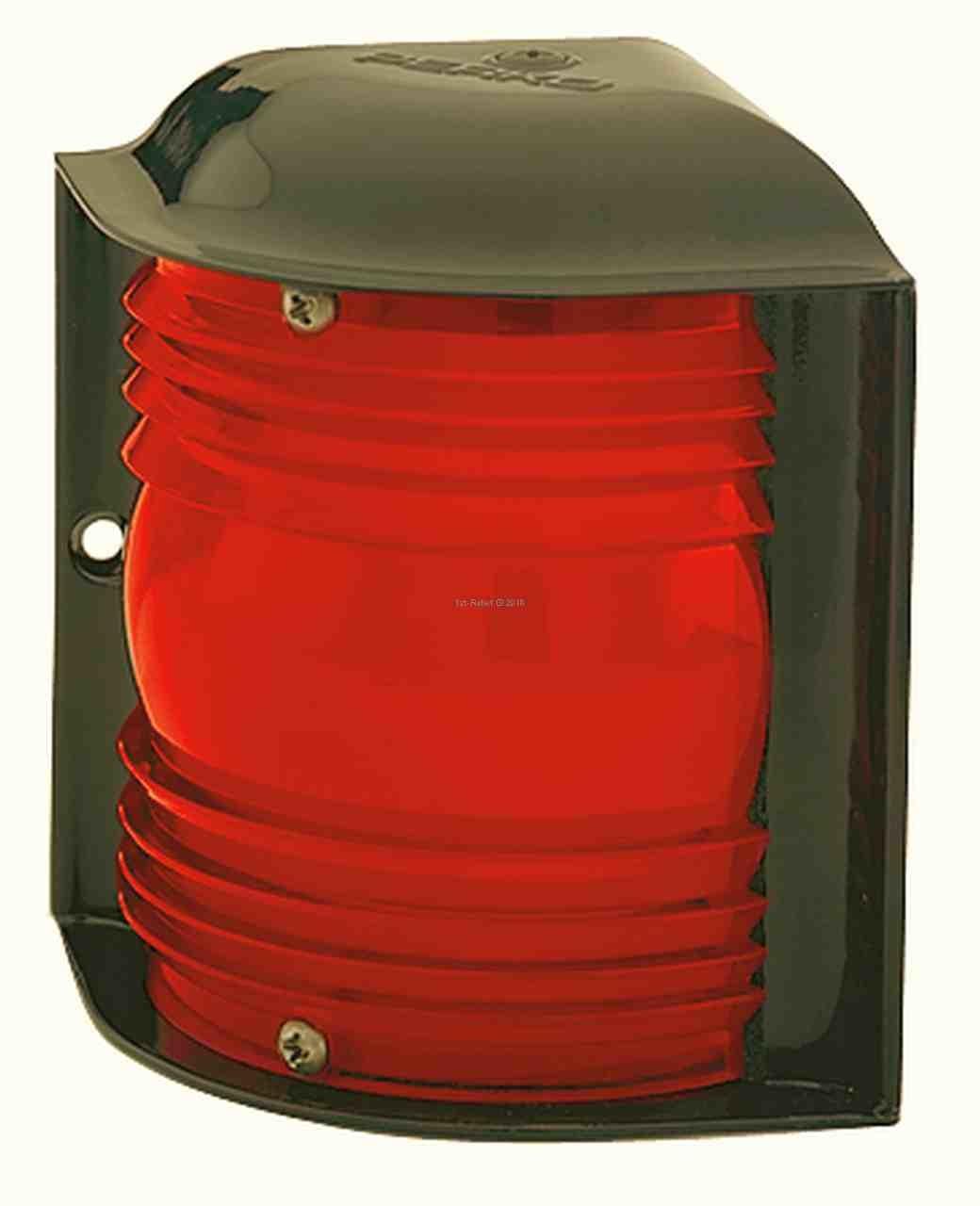 Perko 12 - 24 VDC rotes Seitenlicht - horizontale Montage (Glühlampe nicht im Lieferumfang enthalten) - Kopie