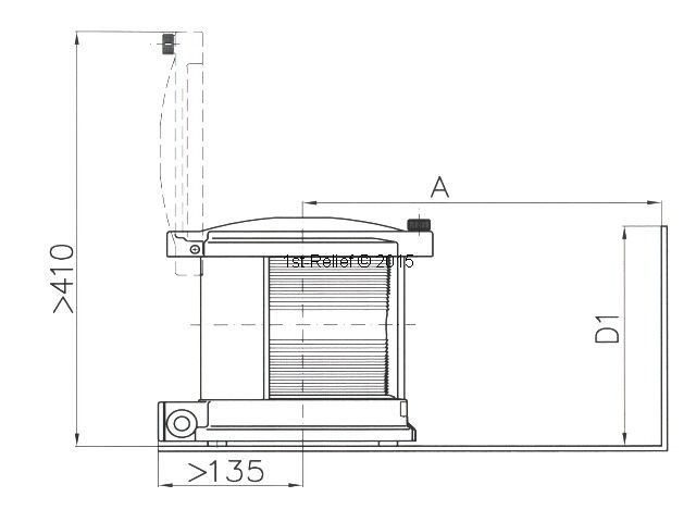 Peters&Bey LED Navigationslicht / Laterne 780 - Backbord