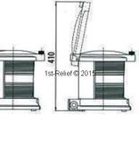 Peters&Bey LED Doppel Navigationslicht / Laterne 780 - Heck-Schlepplicht