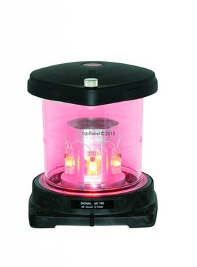 Peters&Bey LED Allround Navigatieverlichting / Lantern 780 - Signal red