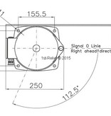 Peters&Bey LED Allround Navigationlight / Lantern 780 - Signal yellow