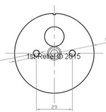 Peters&Bey LED Navigationslicht / Laterne 580 - Topplicht weiss 5 NM