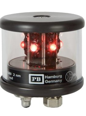 Peters&Bey LED Navigationlight / Lantern 580 - Signal light red