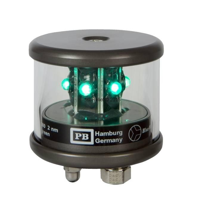 Peters&Bey LED Navigatieverlichting / Lantern 580 - Signal light green